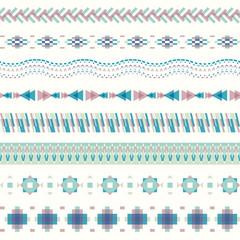Seamless pattern in modern style
