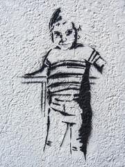 Graffiti Junge