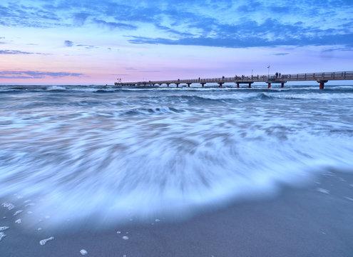 Baltic coast near Prerow