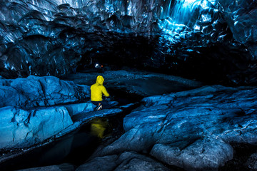 crystal caves iceland