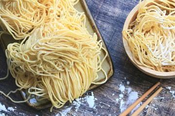yellow egg noodles