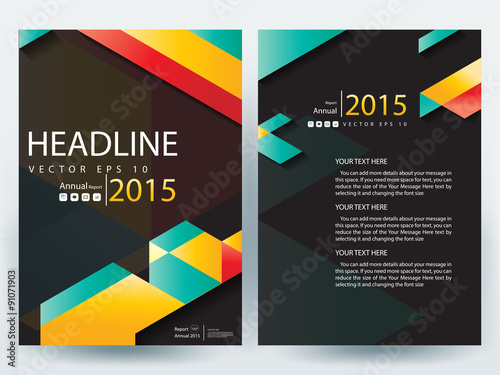 Modern Book Cover Designs : Quot abstract vector modern flyer design brochure