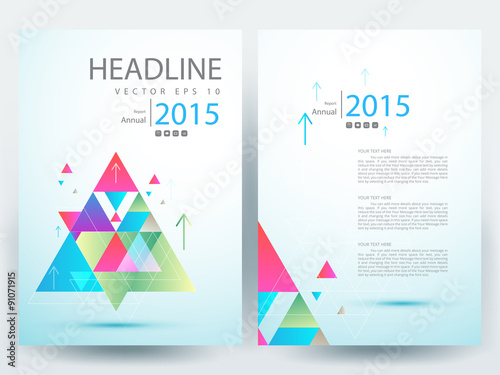 Cover Page For Annual Report Template. Annual Report Brochure Flyer Design  ...  Free Report Cover Page Template