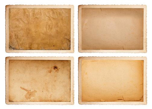 carta vintage collage