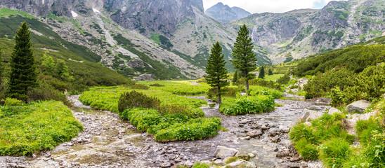 Dolina Małej Zimnej Wody - Słowacja