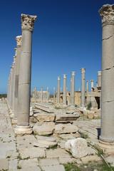 Le rovine di Leptis Magna in Libia