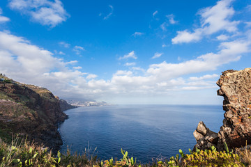 Madeira seascape
