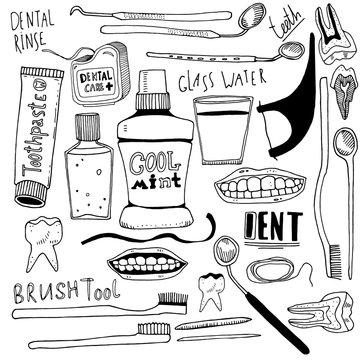 Dental sketchs