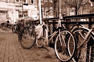 Photo sur Aluminium Old bicycle