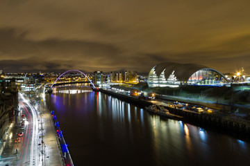 Quayside, Millenium Bridge & The Sage