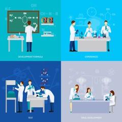 Scientists Flat Set