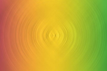 Background of circles of red, yellow, brown, red and green