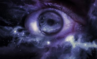 Eyeball Universe Background