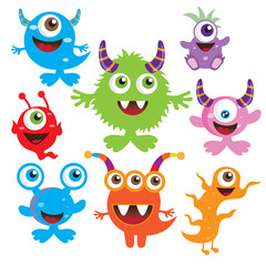 Monster vector illustration
