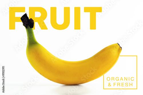 Fresh yellow banana fruits vkontakte facebook