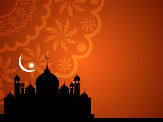 Beautiful background design for Eid