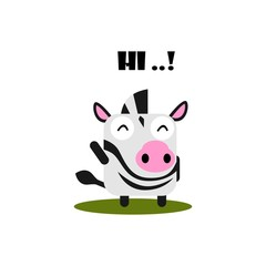 Cute Animal Expression Vector Template