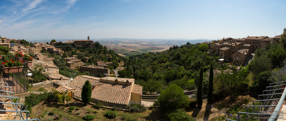 Landscape near Pienza, Tuscany, Italy