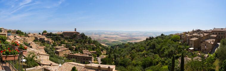 Landscape near Montalcino, Tuscany, Italy