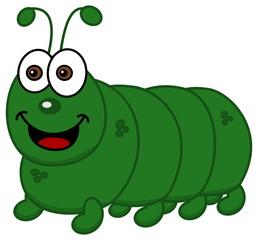 smiling caterpillar