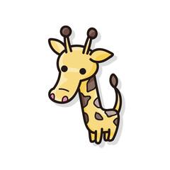 animal giraffe doodle