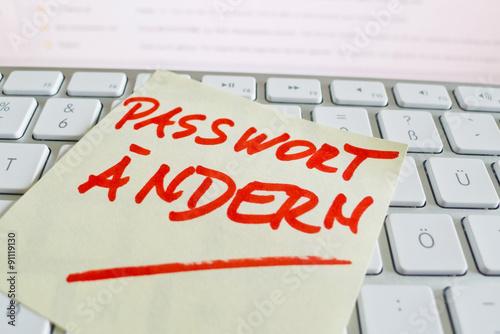 visa passwort ändern