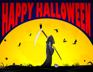 Grim Reaper illustration