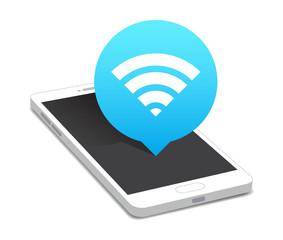 Phone Wi-fi Icon Bubble