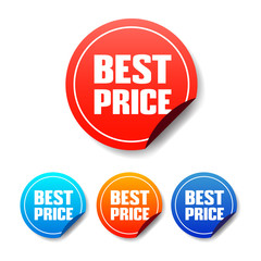 Best Price Round Stickers