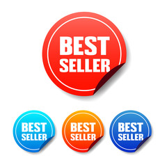 Best Seller Round Stickers