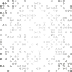 Gray White Random Dots Background, Creative Design Templates