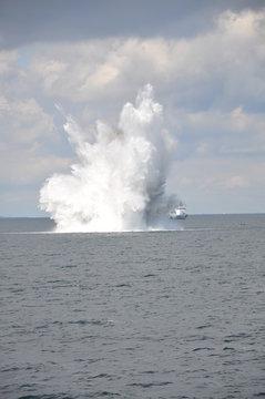 Kampfmittelbeseitigung auf der Ostsee