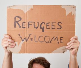 Refugees welcom