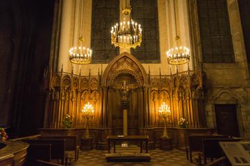 フランス 世界遺産 シャルトル大聖堂 黒いマリア像