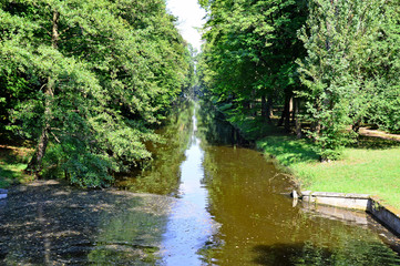 Forstmeisterkanal im Schlosspark Laxenburg