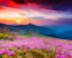 Wall Mural - Natural blurred background