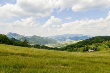 Canvas Prints Hill Gebirgslandschaft in der Hohen Tatra Polen