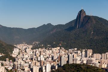 Rio de Janeiro Skyline with Corcovado Mountain
