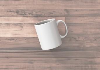 Kaffee Tee Tasse Vorlage weiss
