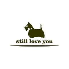 small dog love forever