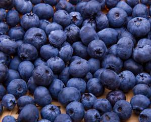 fresh blueberries background pattern