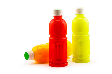Bottle of fruit juice