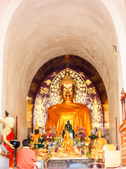 Seated Buddha Image at Wat Jet Yod