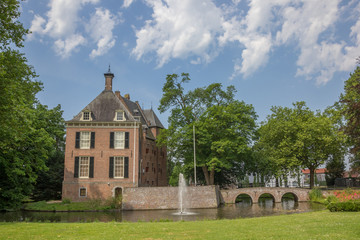 Castle Kinkelenburg in the historic centre of Bemmel