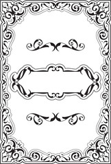 Baroque luxury cool fine page
