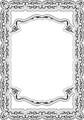 Ornate nice cool frame
