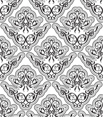 Seamless orient art pattern