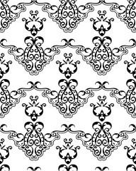 Seamless ornament fine pattern