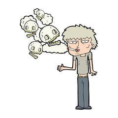 cartoon smoker