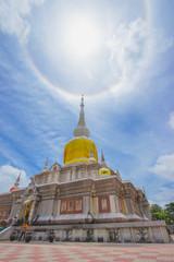 Relics in thailand temple public status